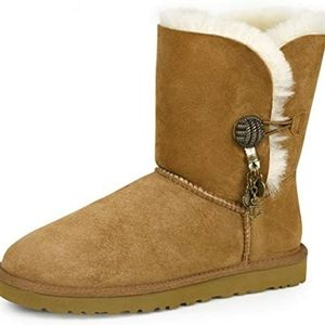 UGG Briana Button Charm Boots